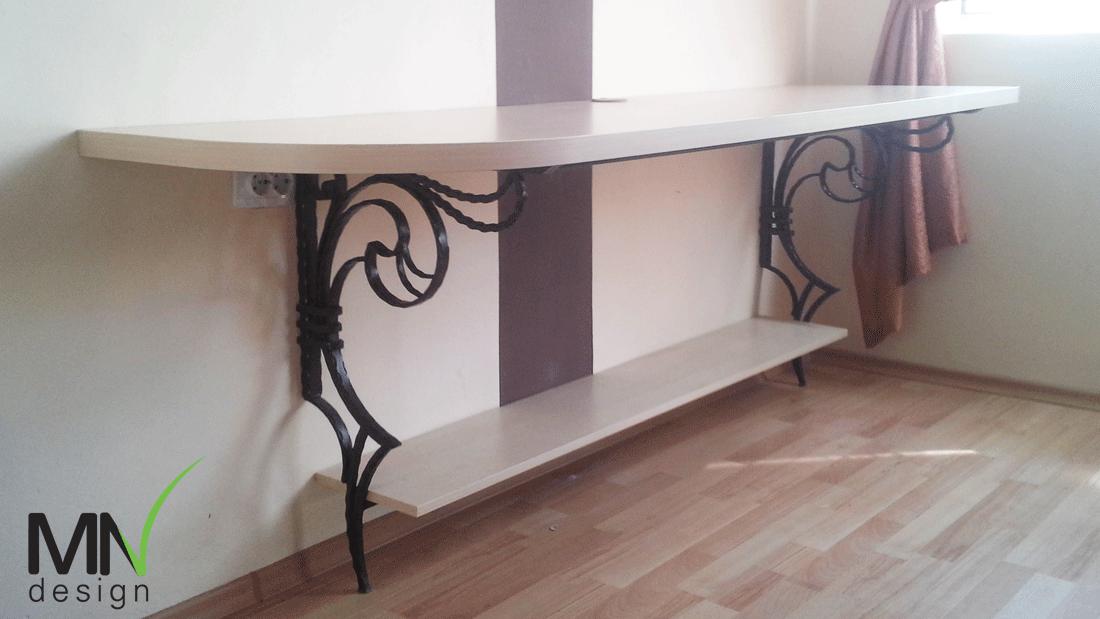 дизайнерски мебели от ковано желязо
